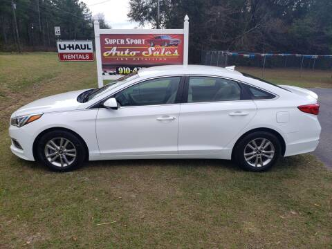 2017 Hyundai Sonata for sale at Super Sport Auto Sales in Hope Mills NC