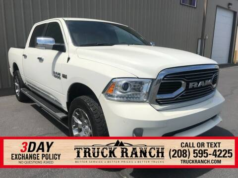 2017 RAM Ram Pickup 1500 for sale at Truck Ranch in Twin Falls ID