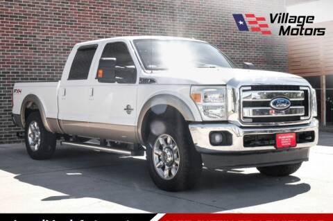 2011 Ford F-250 Super Duty for sale at Village Motors in Lewisville TX