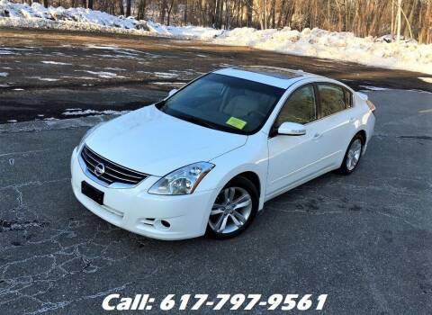 2012 Nissan Altima for sale at Wheeler Dealer Inc. in Acton MA