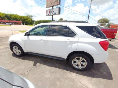 2012 Chevrolet Equinox for sale at BIG 7 USED CARS INC in League City TX