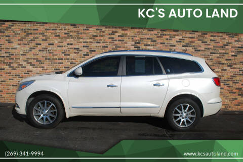 2014 Buick Enclave for sale at KC'S Auto Land in Kalamazoo MI
