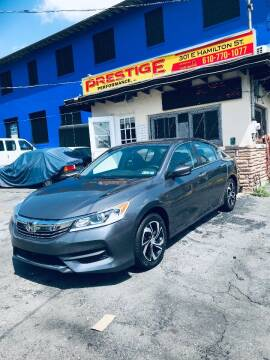 2017 Honda Accord for sale at PRESTIGE PERFORMANCE in Allentown PA