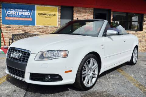 2007 Audi S4 for sale at ALWAYSSOLD123 INC in North Miami Beach FL