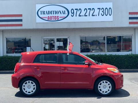 2010 Scion xD for sale at Traditional Autos in Dallas TX