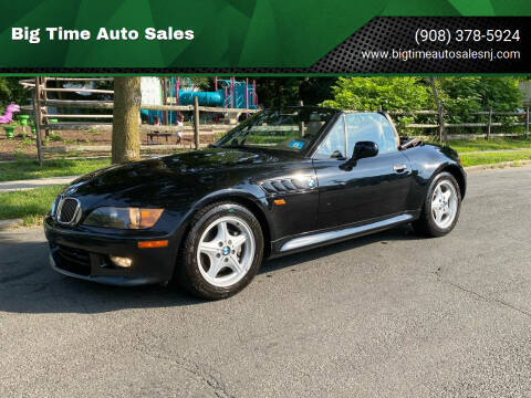 1999 BMW Z3 for sale at Big Time Auto Sales in Vauxhall NJ