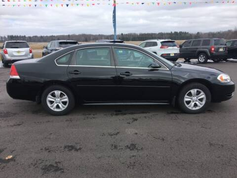 2012 Chevrolet Impala for sale at TJ's Auto in Wisconsin Rapids WI