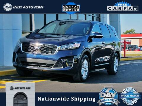 2019 Kia Sorento for sale at INDY AUTO MAN in Indianapolis IN