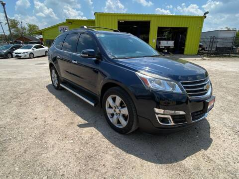 2016 Chevrolet Traverse for sale at RODRIGUEZ MOTORS CO. in Houston TX