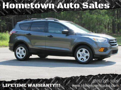 2017 Ford Escape for sale at Hometown Auto Sales - SUVS in Jasper AL