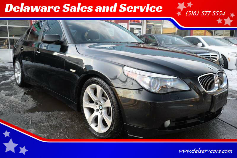 2005 BMW 5 Series for sale at Delaware Sales and Service in Albany NY