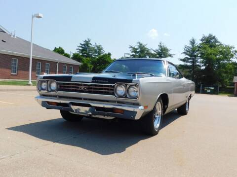 1969 Plymouth GTX for sale at WEST PORT AUTO CENTER INC in Fenton MO