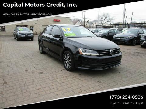 2017 Volkswagen Jetta for sale at Capital Motors Credit, Inc. in Chicago IL