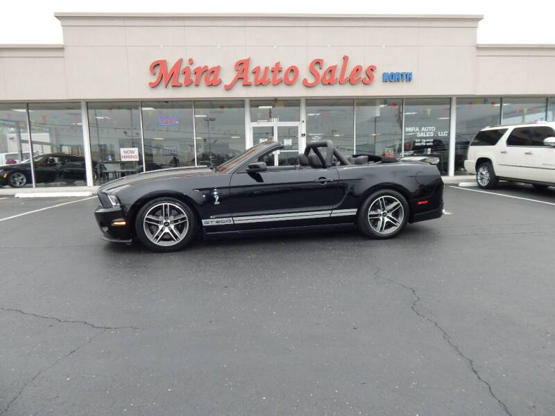 2010 Ford Shelby GT500 for sale at Mira Auto Sales in Dayton OH