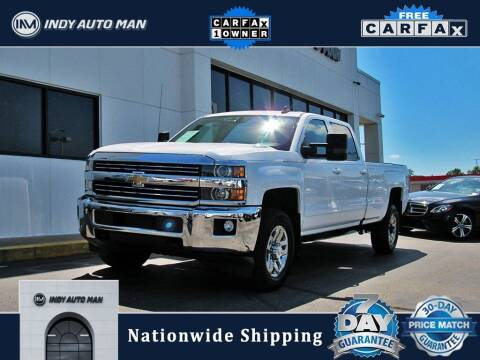 2016 Chevrolet Silverado 2500HD for sale at INDY AUTO MAN in Indianapolis IN