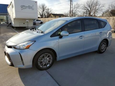 2015 Toyota Prius v for sale at Kell Auto Sales, Inc - Grace Street in Wichita Falls TX