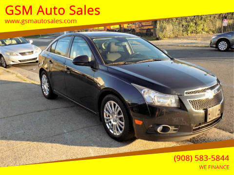2012 Chevrolet Cruze for sale at GSM Auto Sales in Linden NJ