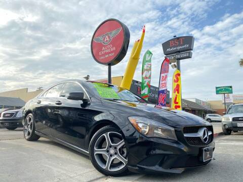 2014 Mercedes-Benz CLA for sale at Auto Express in Chula Vista CA