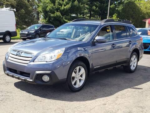 2013 Subaru Outback for sale at Thompson Motors in Lapeer MI