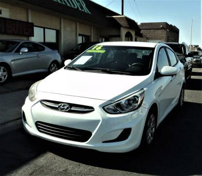 2016 Hyundai Accent for sale at DESERT AUTO TRADER in Las Vegas NV
