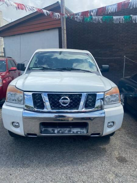 2012 Nissan Titan for sale at E-Z Pay Used Cars in McAlester OK