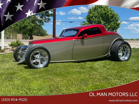 1933 Ford Model A for sale at Ol Man Motors LLC in Louisville OH