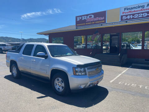 2012 Chevrolet Avalanche for sale at Pro Motors in Roseburg OR