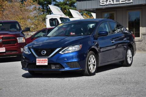 2018 Nissan Sentra for sale at Will's Fair Haven Motors in Fair Haven VT