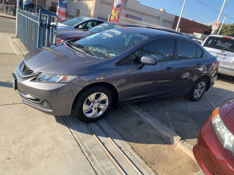 2014 Honda Civic for sale at Olympic Motors in Los Angeles CA