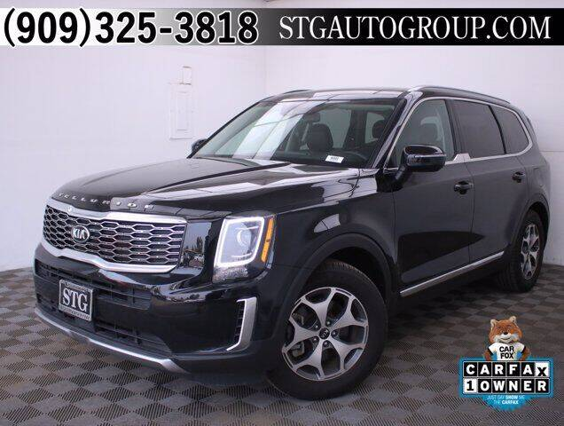 2020 Kia Telluride for sale at STG Auto Group in Montclair CA