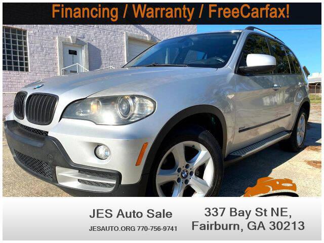 2008 BMW X5 for sale at JES Auto Sales LLC in Fairburn GA