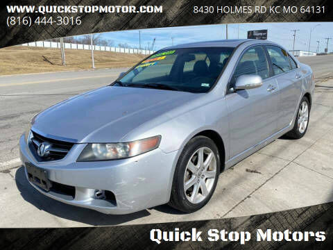 2004 Acura TSX for sale at Quick Stop Motors in Kansas City MO