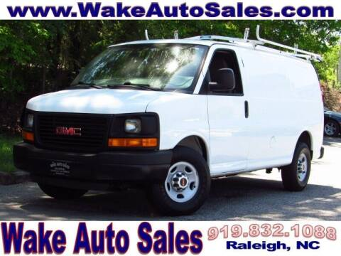 2015 GMC Savana Cargo for sale at Wake Auto Sales Inc in Raleigh NC