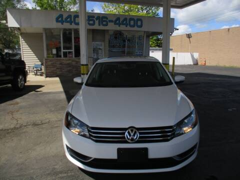 2014 Volkswagen Passat for sale at Elite Auto Sales in Willowick OH