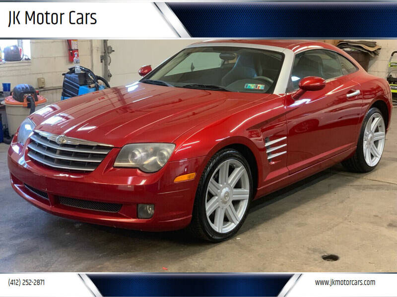 2005 Chrysler Crossfire for sale at JK Motor Cars in Pittsburgh PA