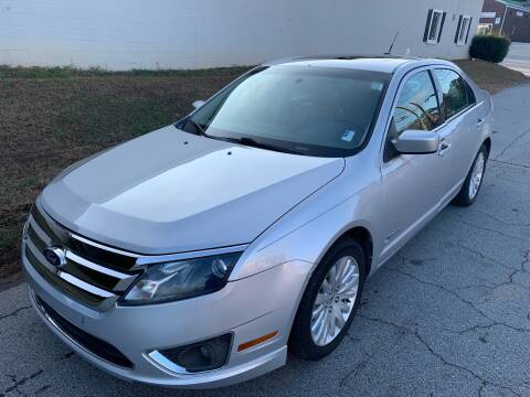 2010 Ford Fusion Hybrid for sale at ATLANTA AUTO WAY in Duluth GA