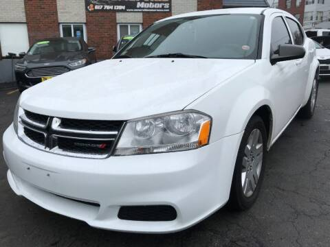 2012 Dodge Avenger for sale at Somerville Motors in Somerville MA