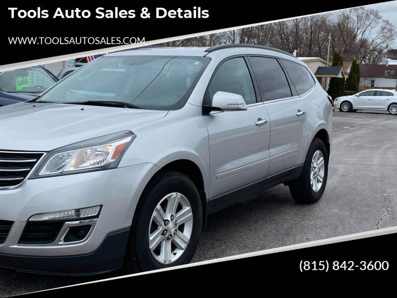 2014 Chevrolet Traverse for sale at Tools Auto Sales & Details in Pontiac IL