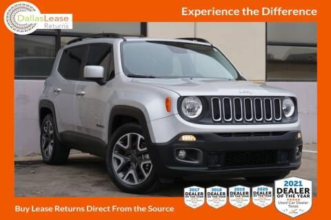 2015 Jeep Renegade for sale at Dallas Auto Finance in Dallas TX