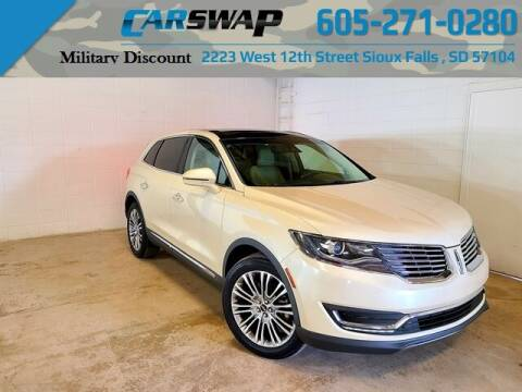 2018 Lincoln MKX for sale at CarSwap in Sioux Falls SD