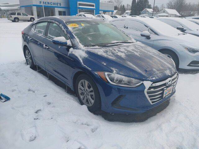 2018 Hyundai Elantra for sale at Frenchie's Chevrolet and Selects in Massena NY