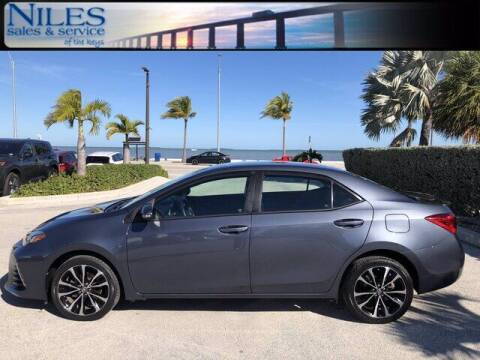 2017 Toyota Corolla for sale at Niles Sales and Service in Key West FL