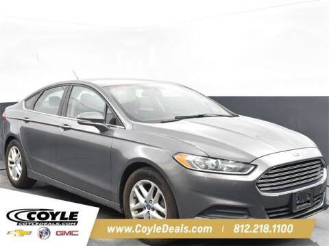 2013 Ford Fusion for sale at COYLE GM - COYLE NISSAN - New Inventory in Clarksville IN