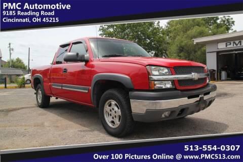 2003 Chevrolet Silverado 1500 for sale at PMC Automotive in Cincinnati OH