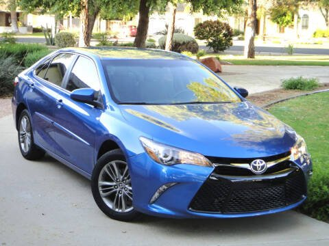 2017 Toyota Camry for sale at AZGT LLC in Phoenix AZ