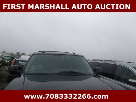 2005 Cadillac Escalade for sale at First Marshall Auto Auction in Harvey IL