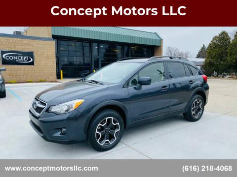 2014 Subaru XV Crosstrek for sale at Concept Motors LLC in Holland MI