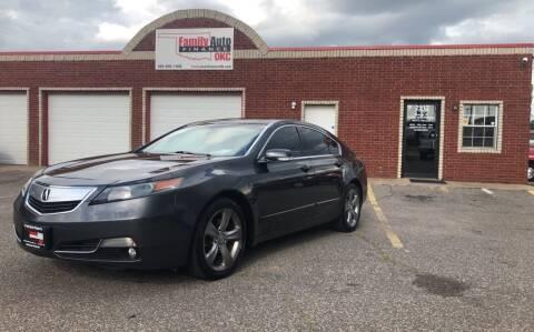 2012 Acura TL for sale at Family Auto Finance OKC LLC in Oklahoma City OK