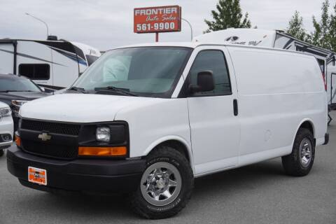 2007 Chevrolet Express Cargo for sale at Frontier Auto & RV Sales in Anchorage AK