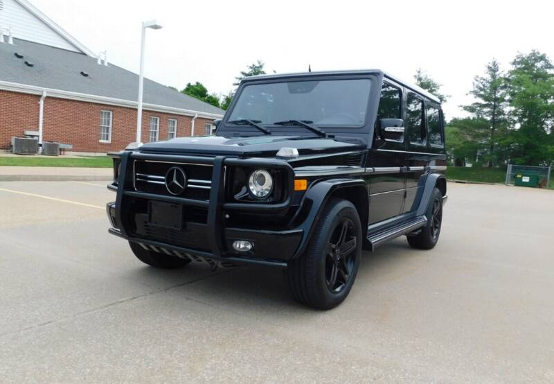 2011 Mercedes-Benz G-Class for sale at WEST PORT AUTO CENTER INC in Fenton MO